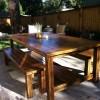 Building Ana-White's Farmhouse Table