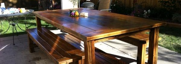 Building Ana-White's Farmhouse Table